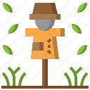 character, farming, gardening, miscellaneous, rural, scarecrow icon