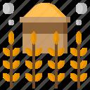 farming, food, gardening, plant, restaurant, wheat icon