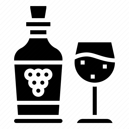 alcohol, beverage, grape, party, wine icon