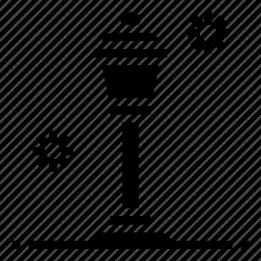 lamp, light, outdoor, post, street icon