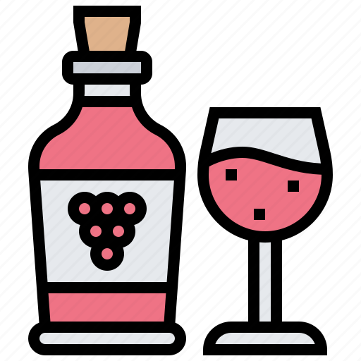 alcohol, beverage, grape, party, wine icon