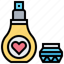 aroma, cologne, fragrant, liquid, perfume icon
