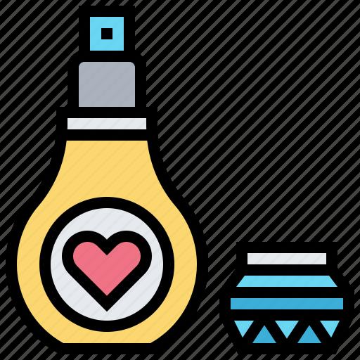 aroma, cologne, fragrant, liquid, perfume icon