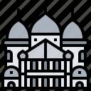 basilica, catholic, coeur, roman, sacre icon