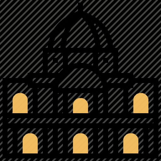 architecture, building, complex, des, invalids icon