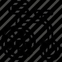 acrobatic, bicycle, bike, extreme, vehicle icon