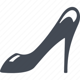 fashion, france, heel, shoes icon