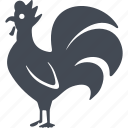 france, cock, bird, feathers icon