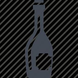 alcohol, bottle, france, wine icon