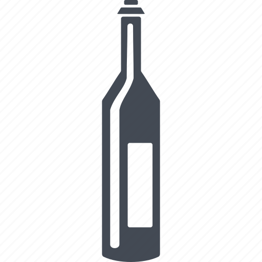 alcohol, bottle, france, french wine, wine icon