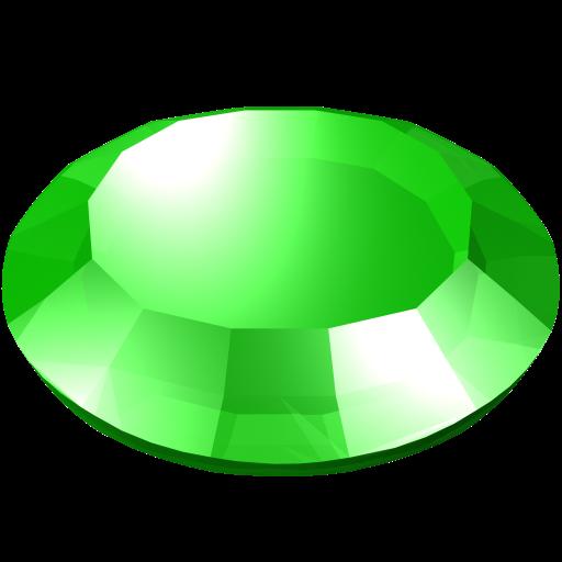 Gem, gemstone, green, round, stone icon | Icon search engine: https://www.iconfinder.com/icons/127301/gem_gemstone_green_round...