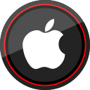 apple, logo, media, social icon