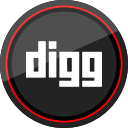 digg, logo, media, social icon