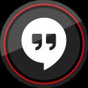 google, hangouts, logo, media, social icon