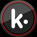 kik, logo, media, social icon