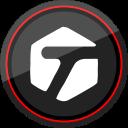 logo, media, social, tagged icon