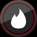 logo, media, social, tinder icon