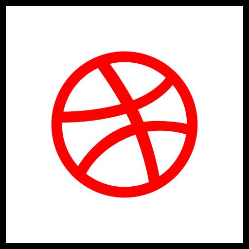 company, dribbble, logo, media, social icon