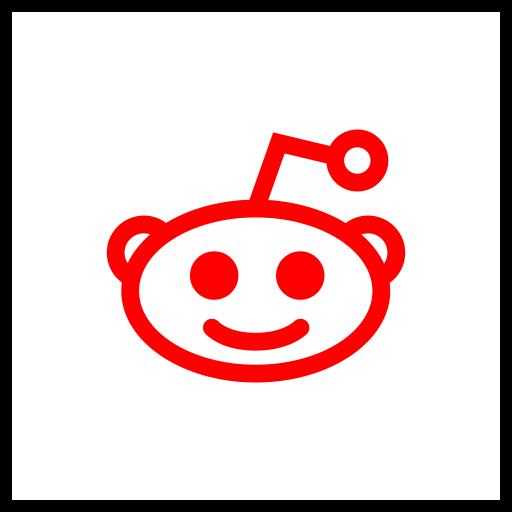 company, logo, media, reddit, social icon