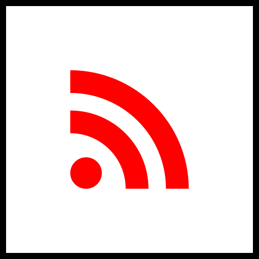 company, logo, media, rss, social icon