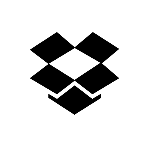 company, dropbox, logo, media, social icon