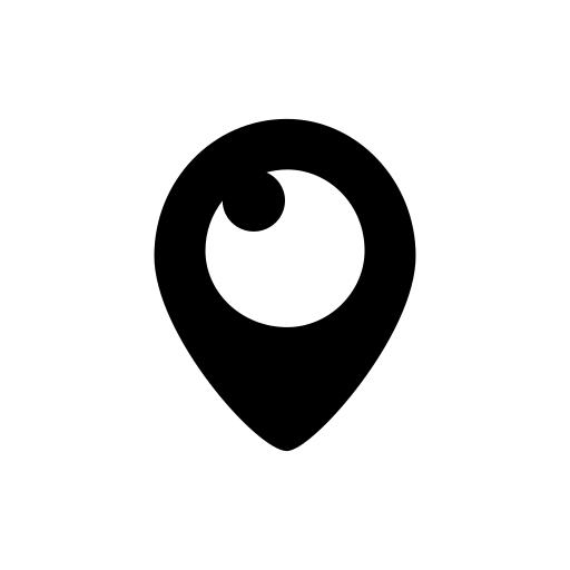 company, logo, media, periscope, social icon