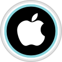 apple, connect, media, social icon
