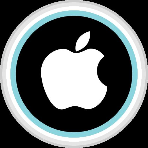 apple, connect, media, social icon