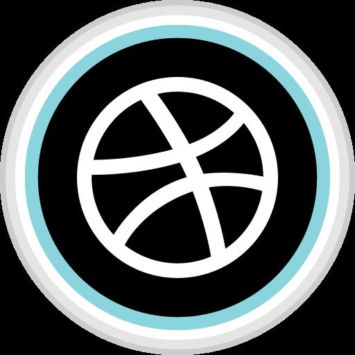 connect, dribbble, media, social icon