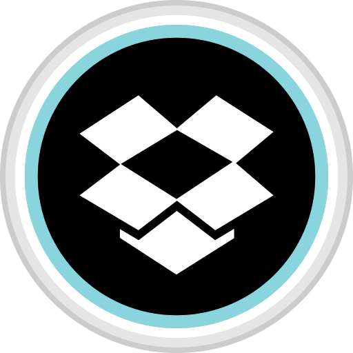 box, connect, drop, media, social icon