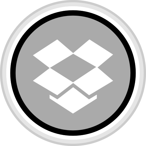 connect, dropbox, media, social icon
