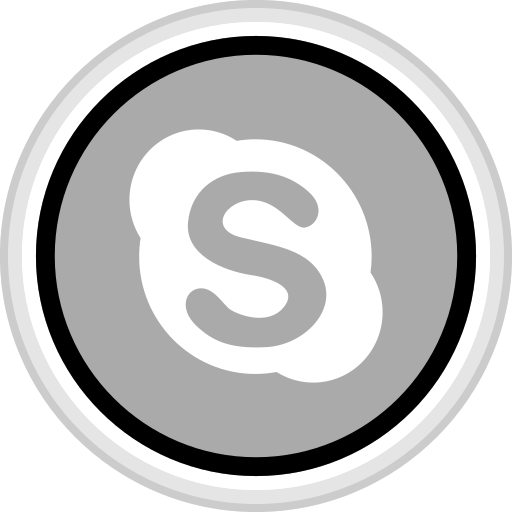 connect, media, skype, social icon