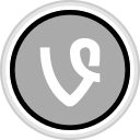 connect, media, social, vine icon
