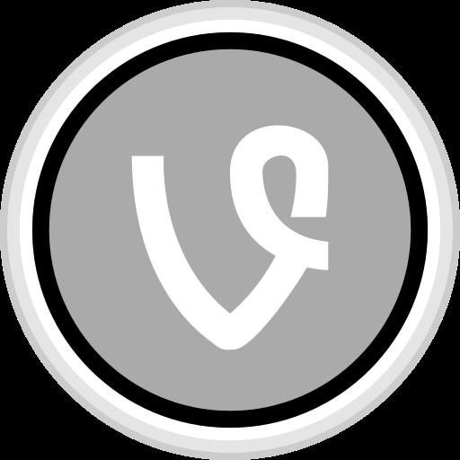 connect, media, social, vine icon