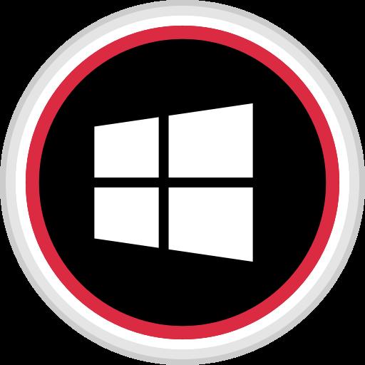 media, online, social, windows icon