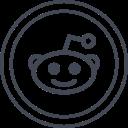 logo, media, reddit, social icon