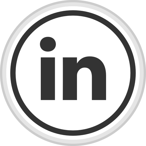 linkedin, logo, media, online, social icon