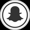 media, logo, online, snapchat, social icon