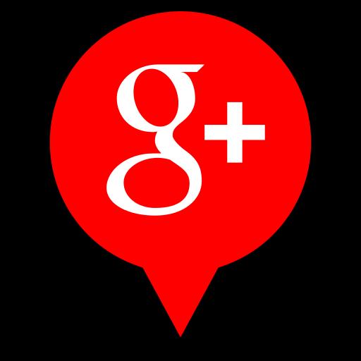 google, logo, pin, plus icon