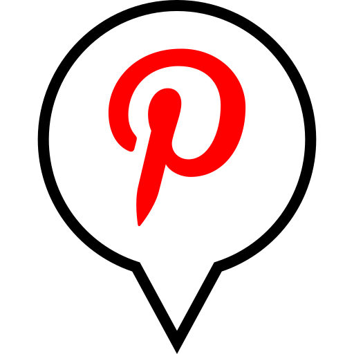 pin, pinterest, social icon