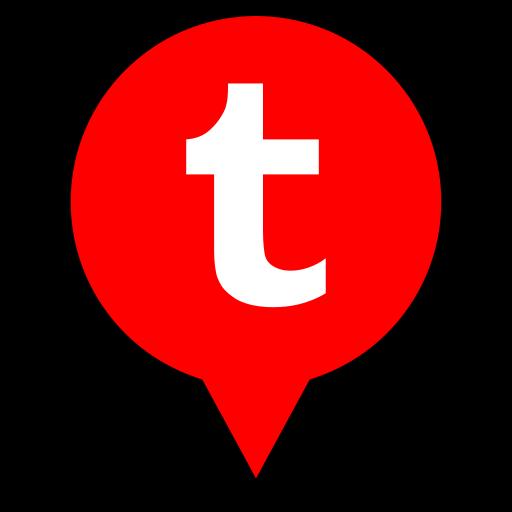 logo, pin, tumblr icon