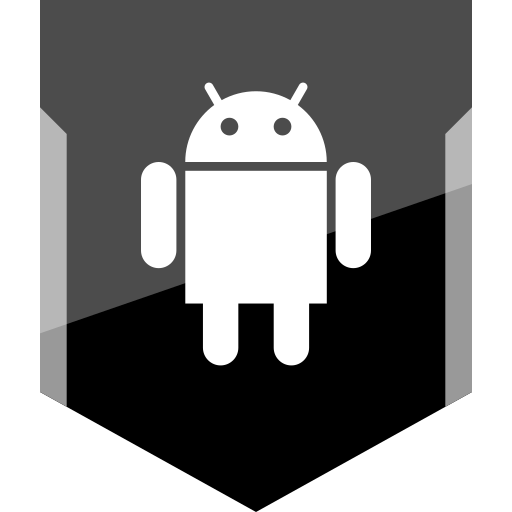 android, logo, social icon