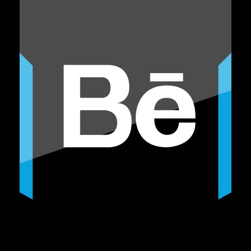 behance, shield, social icon