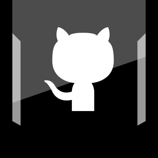 github, logo, social icon