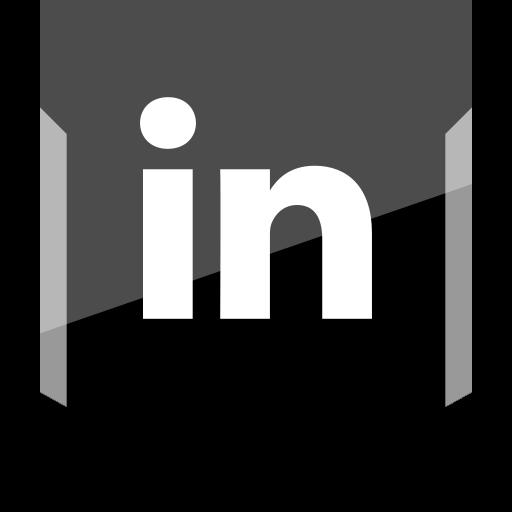 linkedin, logo, social icon