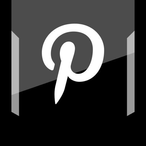 logo, pinterest, social icon