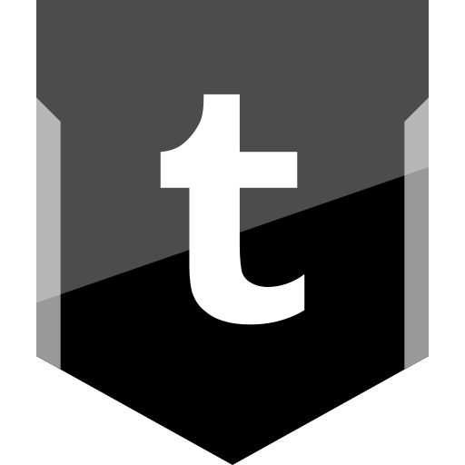 logo, social, tumblr icon