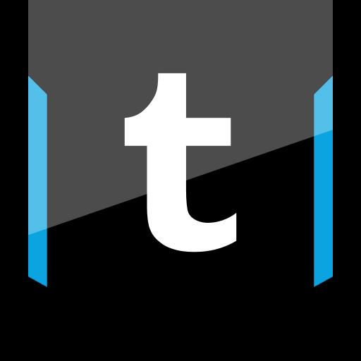 shield, social, tumblr icon