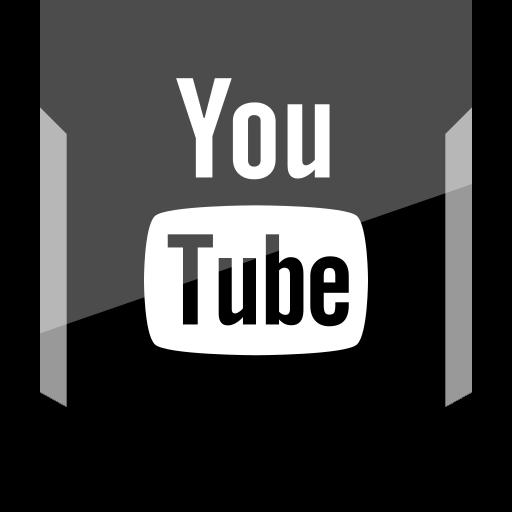 logo, social, youtube icon