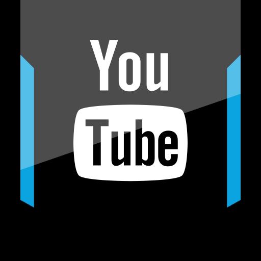 shield, social, youtube icon